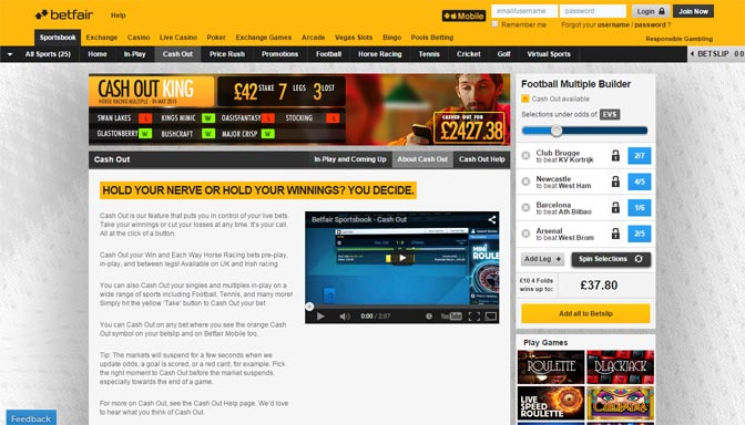 betfair com old site