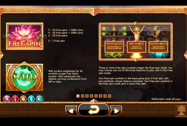 Nirvana Slot Bonus